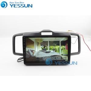 Image 4 - Yessun Auto Android Multimedia Speler Voor Honda Freed Gps Navigatie Grote Scherm Spiegel Link Auto Radio Bluetooth