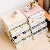 Underwear Organizer Storage Can Adjust The Partition Drawer Closet Organizers Boxes For Bras Briefs Socks Ties Scarfs