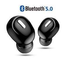 Mini Wireless Bluetooth Earphone V5.0 Stereo in-ear Headset with Mic Sports Running Earbuds Earphones for Samsung Huawei Xiaomi wireless bluetooth 5 0 earphones in ear sports handsfree headset with mic earbuds for iphone 7 8 11 for samsung huawei xiaomi