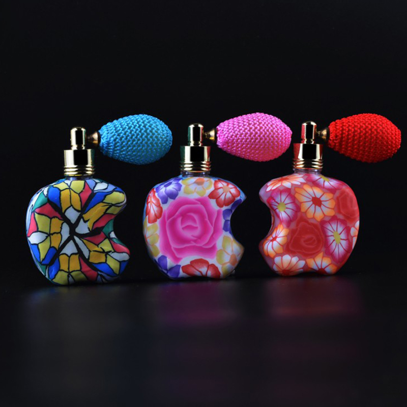 12ml Chinese Style Mini Refillable Spray Bottle Fragrance Gasbag Essential Oil Perfume Bottle Empty Atomizer Cosmetic Container
