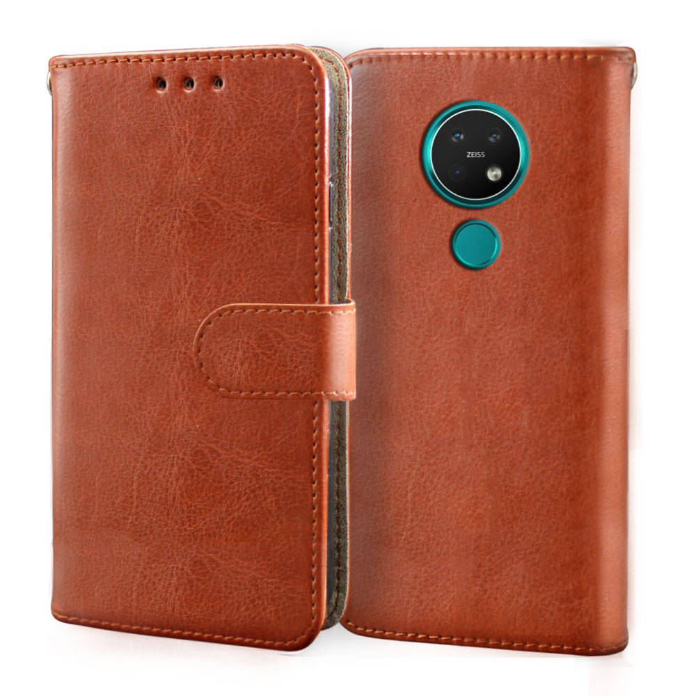 Case For Nokia 1 2 2.1 2.2 2.3 3 3.1A 3.1 3.2 6.2 7.2 8 8.1 Plus Wallet Card PU Leather Flip Cover