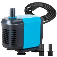 550GPH Submersible Water Pump(2500L/H,40W), Ultra Quiet Submersible Pump with 5ft High Lift, Fountain Pump with 6.5ft Power Cord