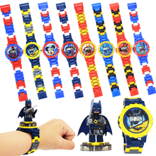 Kids Watches Building Blocks Bricks Toys Children W