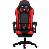 Massage Gaming Chair Heavy Duty Big and Tall Computer Racing Desk Chair with footrest and Large Size PU Leather Chair