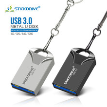 Super mini USB3.0 pendrive16GB 64 32GB USB flash drive 128GB pen drive Drive de Memória Flash USB 3.0 Vara Legal pen drive melhor