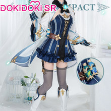 PRE-SALE dokidoki-sr jogo genshin impacto cosplay sacarose traje bonito sacarose genshin impacto cosplay