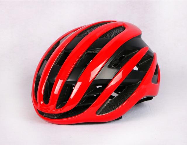 2020 novo ar ciclismo capacete de corrida da bicicleta estrada aerodinâmica vento capacete dos homens esportes aero capacete da bicicleta casco 4