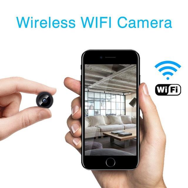 1080P HD IP Mini Camera Wireless Recorder Wifi Security Remote Control Surveillance Night Vision Motion Mobile Detection Camera 1