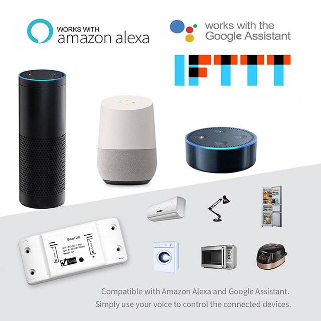 New Smart Light Switch DIY WiFi Breaker Timer Tuya / Smart Life APP Wireless Remote Control Work with Alexa Amazon Google Home 10
