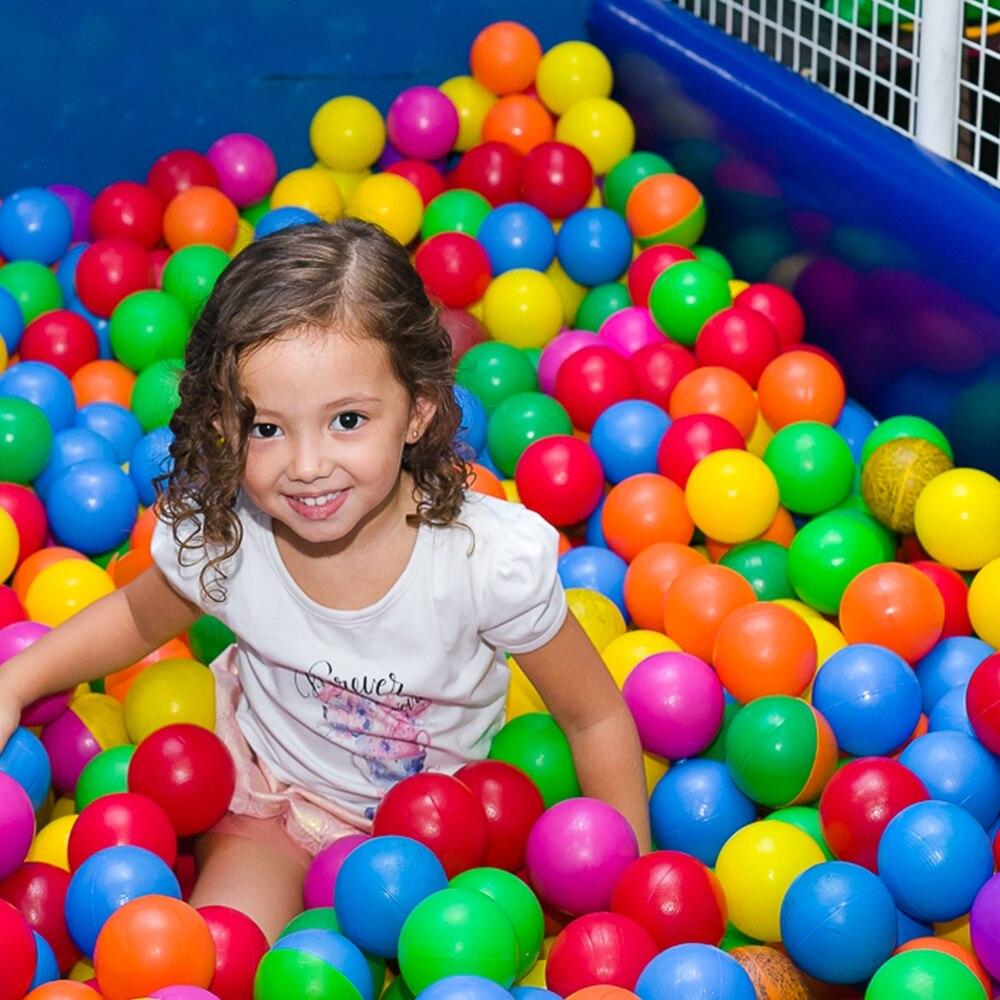 50//100//200Pcs Ocean Ball Plastic Colorful Balls Kids Secure Baby Swim Pool Toys