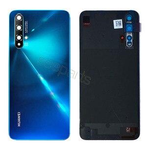 Image 3 - NEUE Zurück Für Huawei Nova 5t Batterie Abdeckung Honor 20 se Hinten Tür Gehäuse Zurück Fall Ersetzt Telefon Huawei ehre 20se Batterie Abdeckung