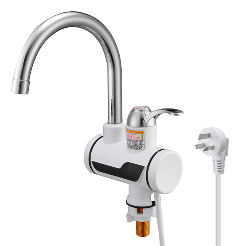3000W Electric Water Heater Temperature Display Faucet For Kitchen Instant Hot Water Tap Faucet Tankless Water Heater