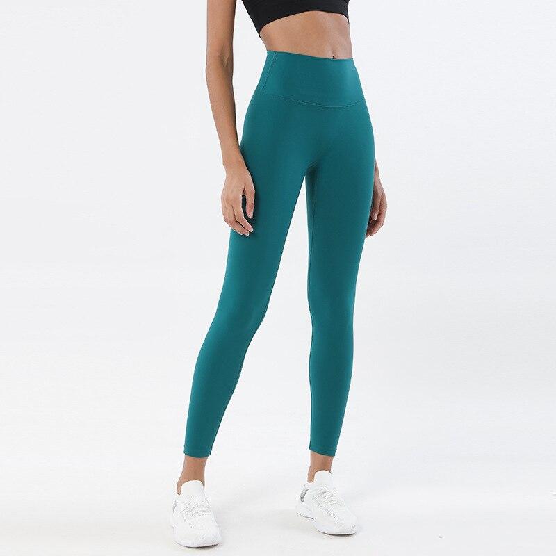das mulheres calças de cintura alta ginásio
