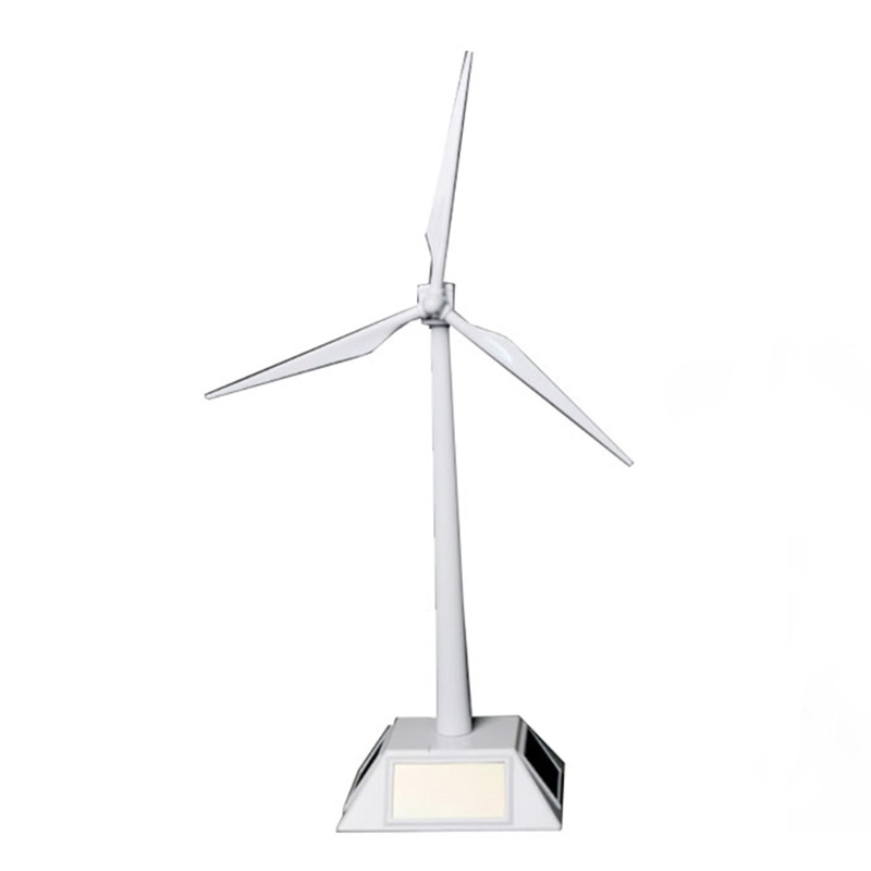 Solar Powered Windmill Model Building Kit Kids DIY Pinwheel for Children Boys Gift Early Educational Toy GXMB
