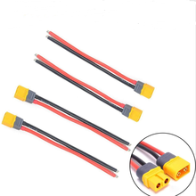 Amass XT60 Connector Male & Female Plug with 10/15cm14 AWG Silicone Wire for RC Airplane Quadcopter Lipo Battery ESC FPV Drone(China)