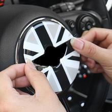 3D наклейка на руль для Mini Cooper F55 F56, наклейка на руль автомобиля, аксессуары для салона автомобиля