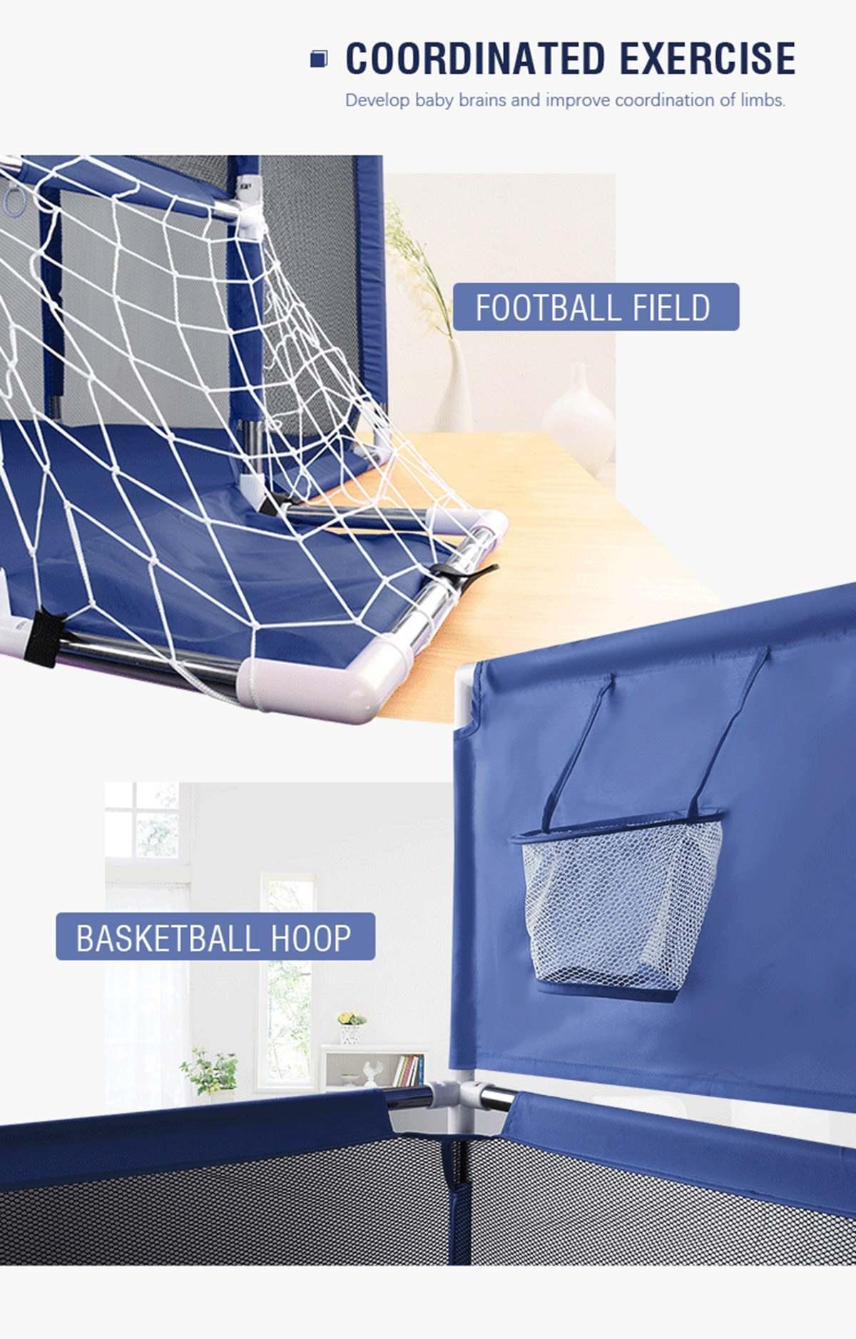 Большой размер детская ткань манеж с баскетбольными стендами детская игровая палатка для малышей океанские шары бассейн яма детские спорт...