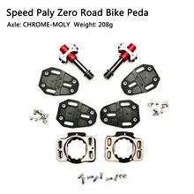 цена на 19 NEW Speed Play Zero Pave Road Bike Pedal CHROME-MOLY Bicycle Self-Locking Pedal Ultra Light Action Pedals 208g