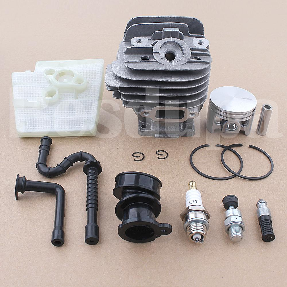 Intake Spark Air 026 Manifold Plug Piston 44mm Filter Chainsaw MS260 Stihl Oil For W 11210201217 Kit Cyliner