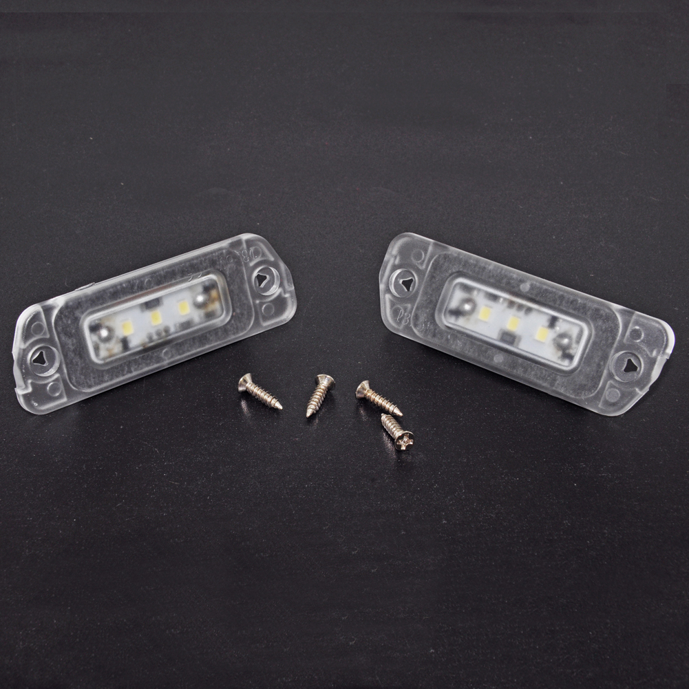 Car Accessories LED Number License Plate Light For Mercedes-Benz R ML GL Class W164 X164 GL450 GL500 GL550 GL320 ML320 ML350