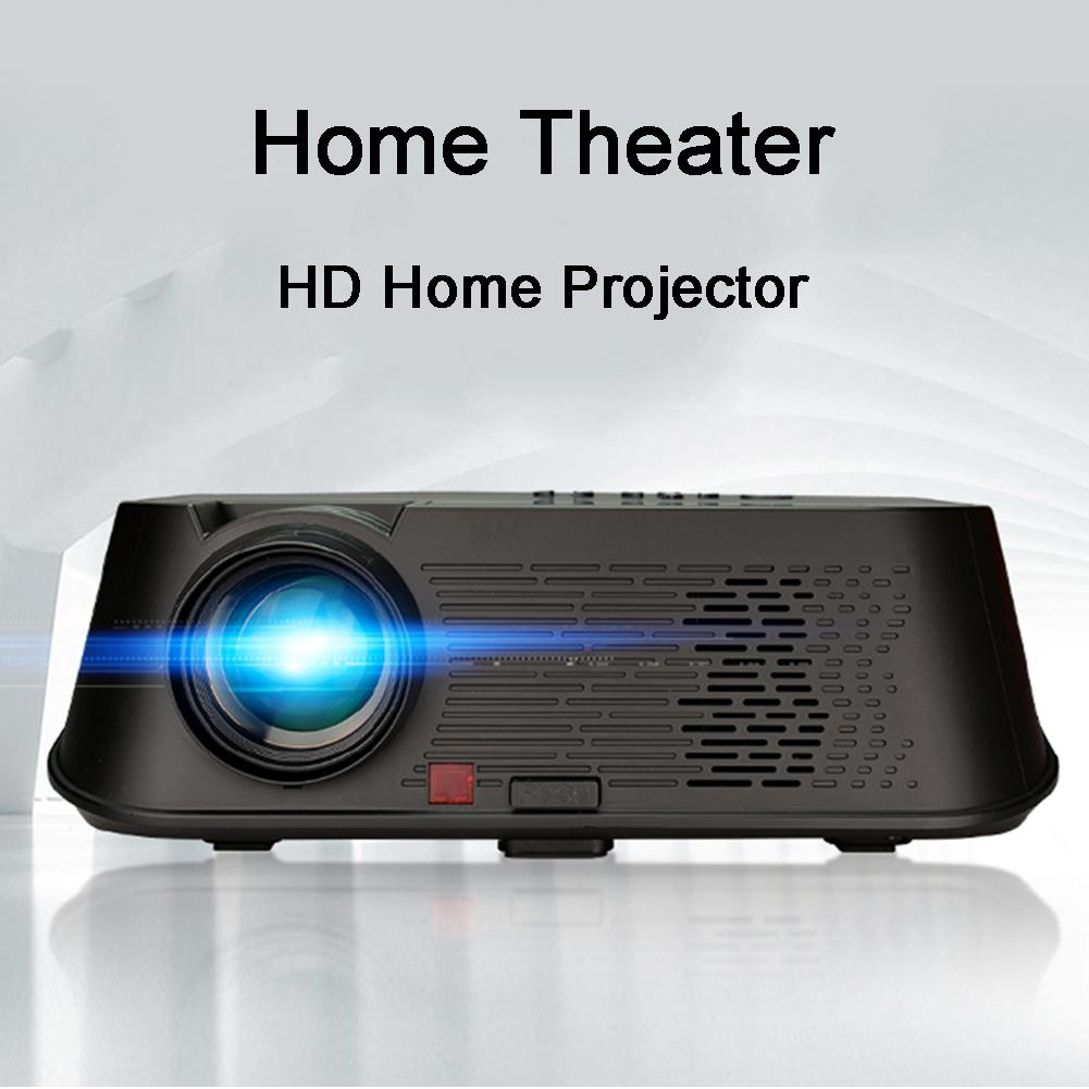 5.8inch LCD LED Projector With 1080P HD Proyector 3500 Lumens For Office Teaching Home EU Warehouse 1920 X 1080P 8X Zoom