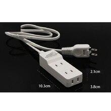 Japão plug função uma vez três soquetes com interruptor tira fiação 0.5m/1m/2m multi função casa tomada de placa de energia