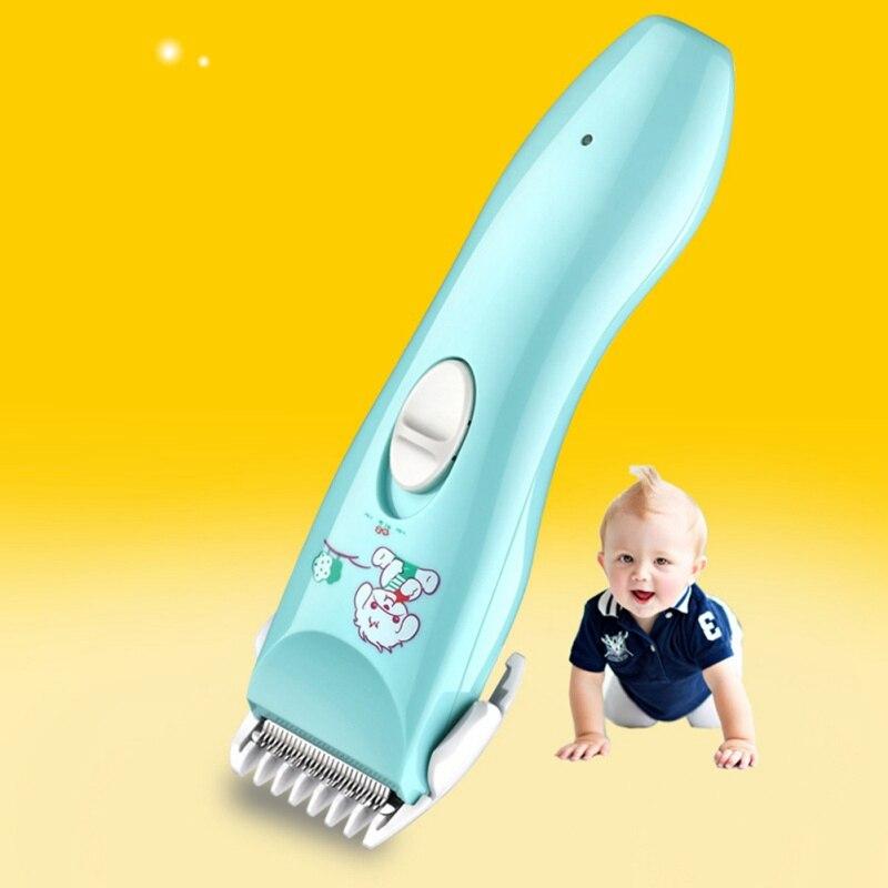 Children Haircutter Kids Hair Clipper Ultra Quiet Baby Hair Trimmer Cordless Waterproof