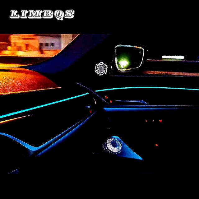 Ledツイーターbmw G30フロントリアドアスピーカーセンターコントロールミッドスピーカーサイドドアスピーカーライトグローランプbocinas
