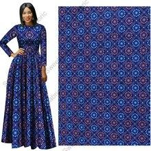 Полиэстер африканская вощеная ткань принты настоящий голландский Pagne голландский Высокое качество Голландии для Модные узор ткань, Анкара