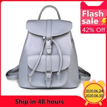 Женский кожаный рюкзак сумка трансформер, official store