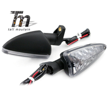 For Aprilia Caponord 1200, SR Motard 125, SXV 550, RSV 4R, RS4 125 Motocycle Front/Rear LED Turn Signal Light Indicator Lamp