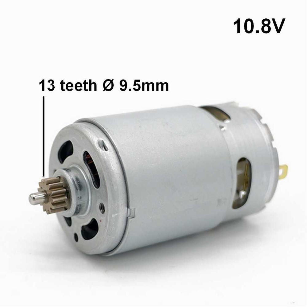 13 Teeth Motor 10.8V Replace For BOSCH Cordless Screw Driver Drill GSR10.8-2-LI GSB10.8-2-LI GSB1080-2-LI GSR GSB 10.8-2-LI