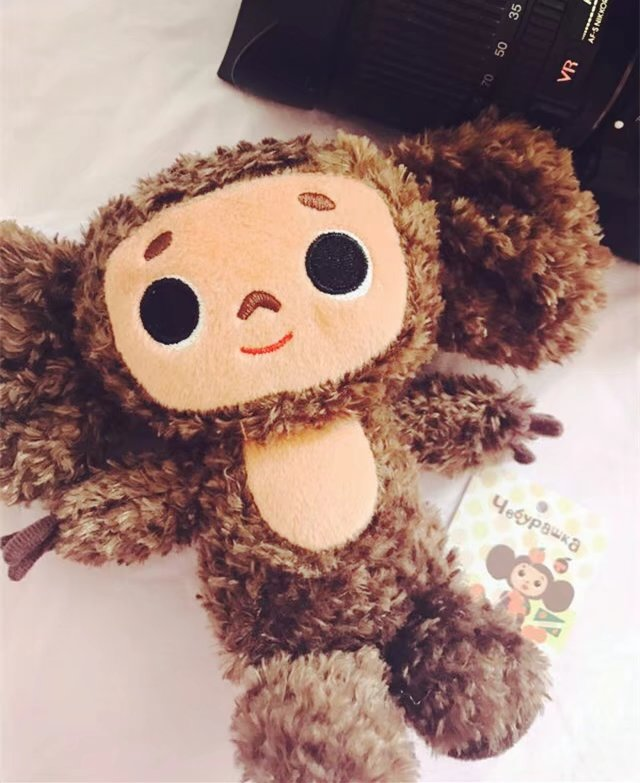 Russian Movie Cheburashka And Gena Toys Dolls Yebypawka Cute Monkey & Crocodile Stuffed & Plush Animals Toy