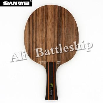 Original Sanwei TWO FACE Table Tennis Blade Defense Racket Ping Pong Bat Paddle