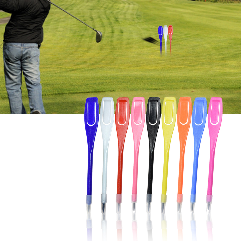 50pcs Tool Practical Portable With Clip Mixed Colors Mud Record Accessories Golf Ball Marker Score Pencil For Traininng Lead