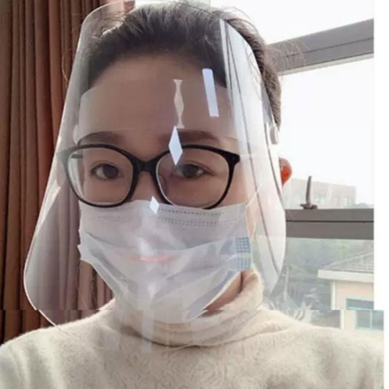 1PC Professional Clear Full-Face Shield Protection Transparent Protective Safety For Adults IN STOCK