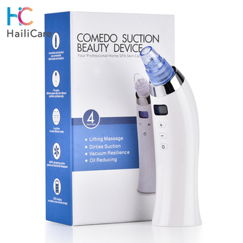 Skin Care Pore Vacuum Blackhead Remover Acne Pimple Removal Vacuum Suction Tool Face Clean Facial Diamond Dermabrasion Machine