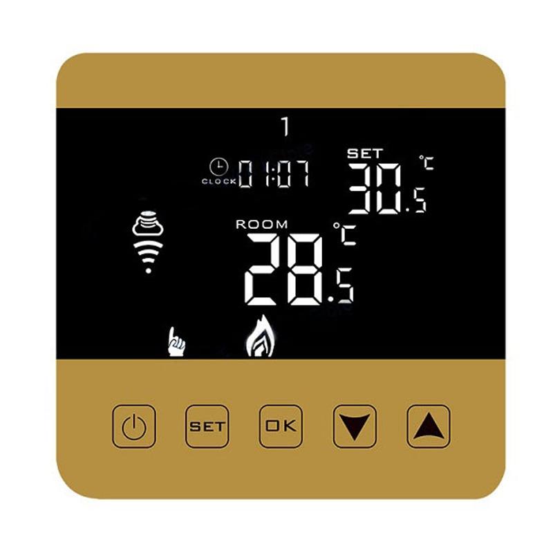 16A08-3JH-WIFI Thermostat chauffage électrique plancher commande vocale Programmable régulateur de température ambiante
