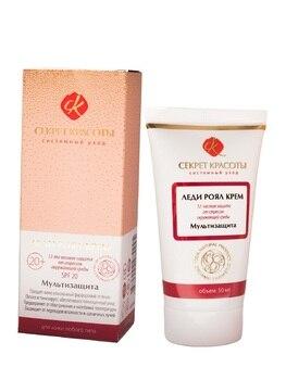 Cream мультизащита, Lady Royal Cream, 50 ml SPF 20. Face care, face cream, natural cosmetics, anti-aging cream, anti-wrinkle cream, protective cream. d ran wonder cream face