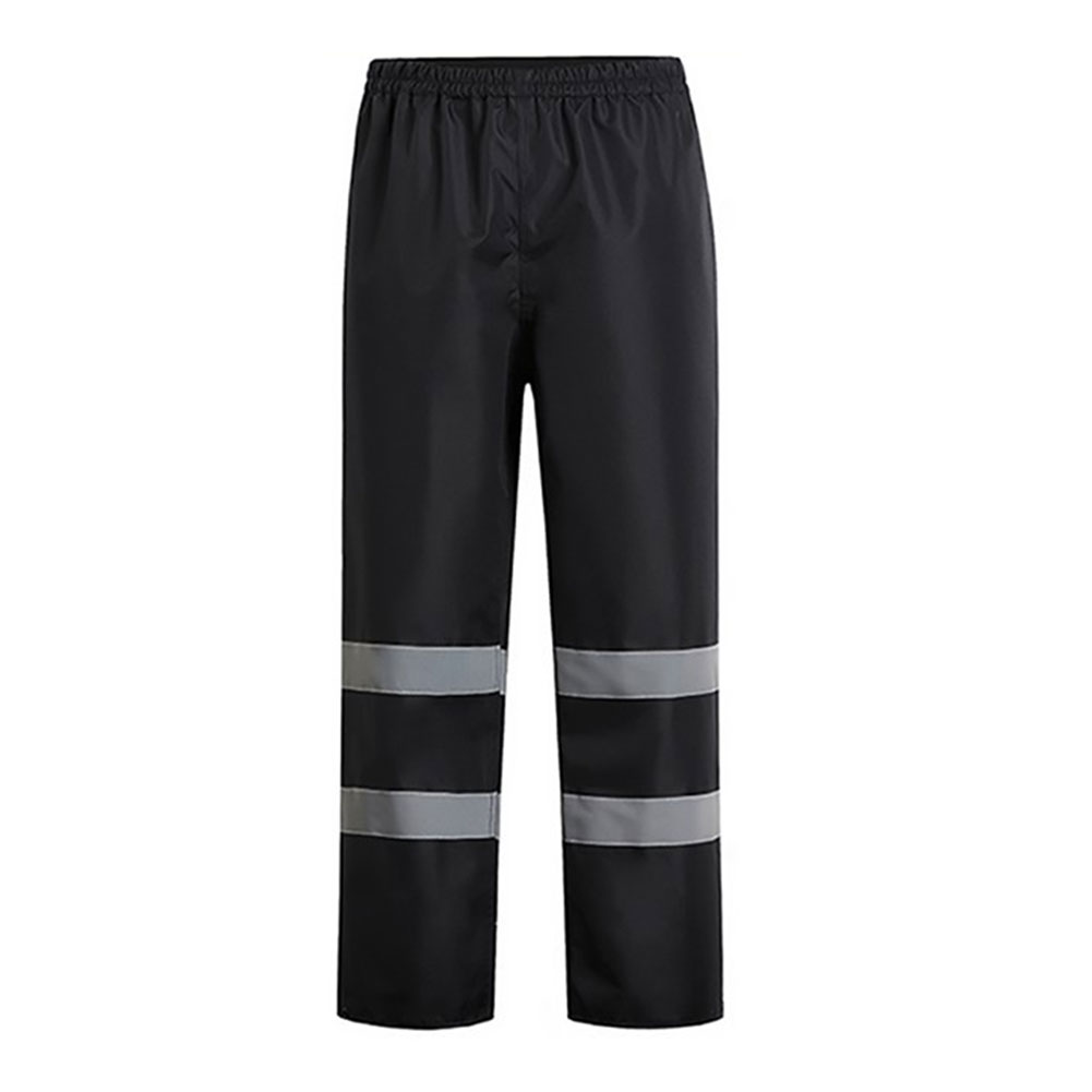 Image 2 - Women Men Reflective Strap Pants Camping Hiking Washable Rain Over Waterproof Trousers Fishing High Visibility PantHiking Pants   -