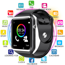 2019 Bluetooth A1 Smart Watch Sports Tracker Men Women Smartwatch IP67 Waterproof A1 Watches for Android IOS PK P68 IW8 IW9 цена 2017