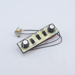 Image 5 - 1 Set Original Genuine Hofner HCT500 Series Bass Kit   (  Tuners + Pickups + Trapeze Tailpiece + Control Panel )