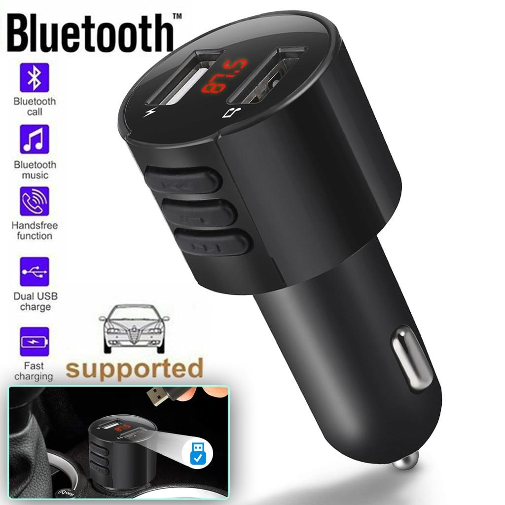 CARPRIE Radio-Adapter Usb-Charger Fm-Transmitter Wireless Mp3-Player Handsfree Bluetooth