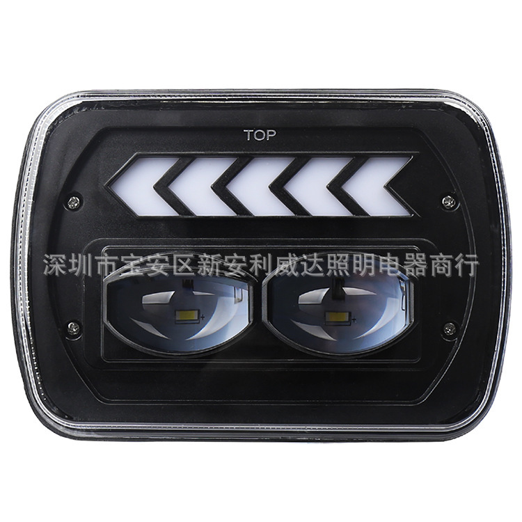 7 Inch Horsemen Of Headlight 5 X7 Party Light Truck Modification Lights LED Car Light Jeep Off-road Headlamps