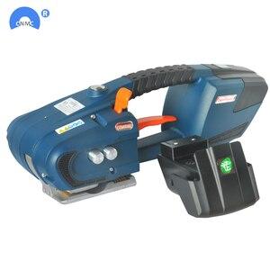 Image 1 - Портативная машина для обвязки аккумуляторов, электрический инструмент для обвязки полиэтиленовых лент