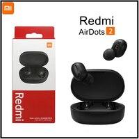 Originele Redmi Airdots 2 Redmi Airdots S Tws Draadloze Bluetooth Xiaomi Koptelefoon Mic Handsfree Oordopjes Ai Contro Stereo Oortelefoon