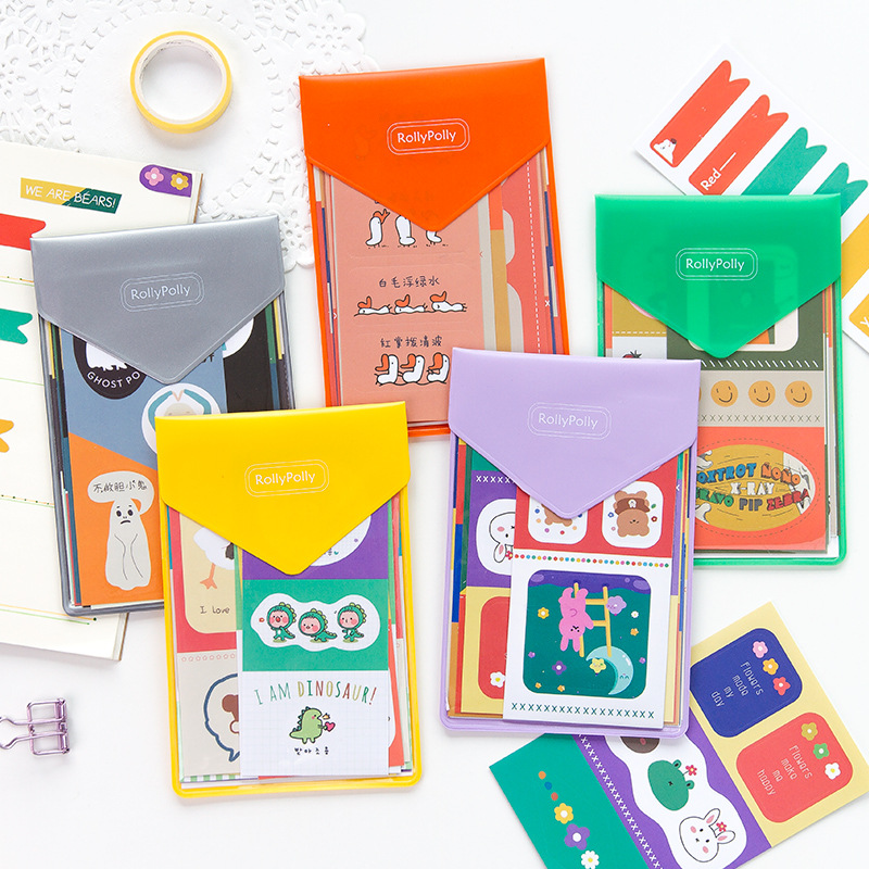 1set /1lot Kawaii Stationery Stickers RollyPolly Diary Decorative Mobile Stickers Scrapbooking DIY Craft Stickers