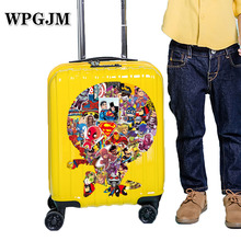 100 Pcs  Marvel Stickers Pack Movies Character for Mobile Phone Laptop Luggage Suitcase Guitar Skateboard Car Decal