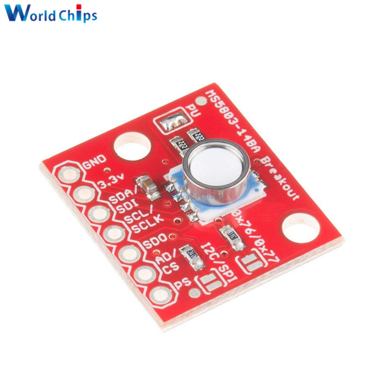 GY-MS5803-01BA MS5803 01BA Fluid Liquid Gas Pressure Height Sensor Breakout Module Waterproof Pressure Sensor for Arduino