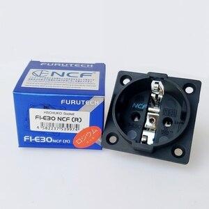 Image 1 - HiFi Schuko Furutech FI E30 NCF nano soket saf bakır kaplama rodyum AC ab priz